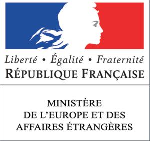 Logo Ministere De L'Europe et des Affaires - partner of Tapis Rouge French Film Festival Etrangeres